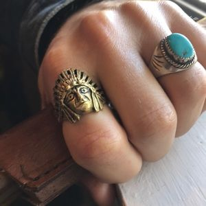 Other - Solid brass Indian Ring -11.75